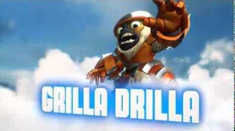 Skylanders Swap Force - Grilla Drilla Soul Gem Preview (If There's a Drill, There's a Way)
