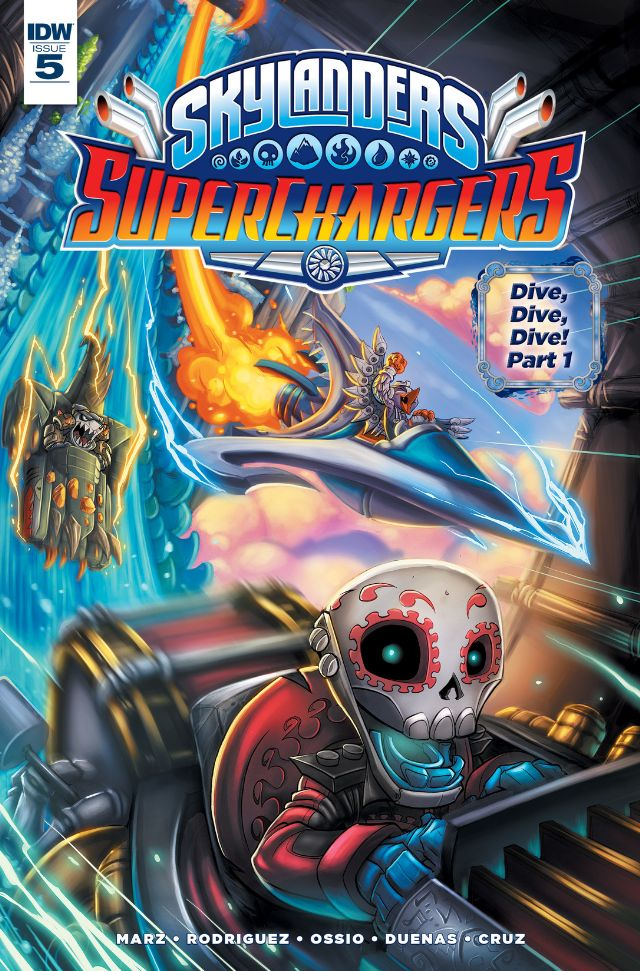SuperChargers Issue 5