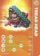 Tread Head Card