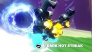 Meet the Skylanders SuperChargers Vehicles Dark Hot Streak