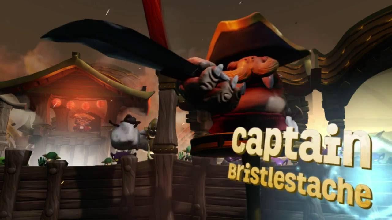 Captain Bristlestache