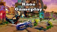 Skylanders Trap Team - Kaos Gameplay