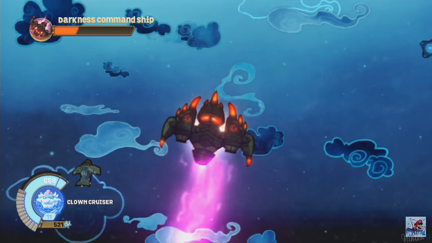 Darkness Command Ship