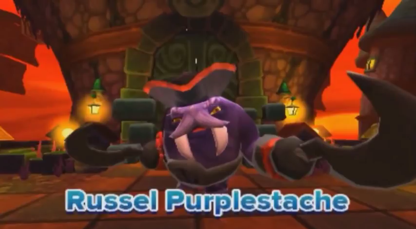 Russel Purplestache
