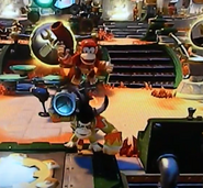 Donkey Kong and Diddy Kong Skylanders SuperChargers