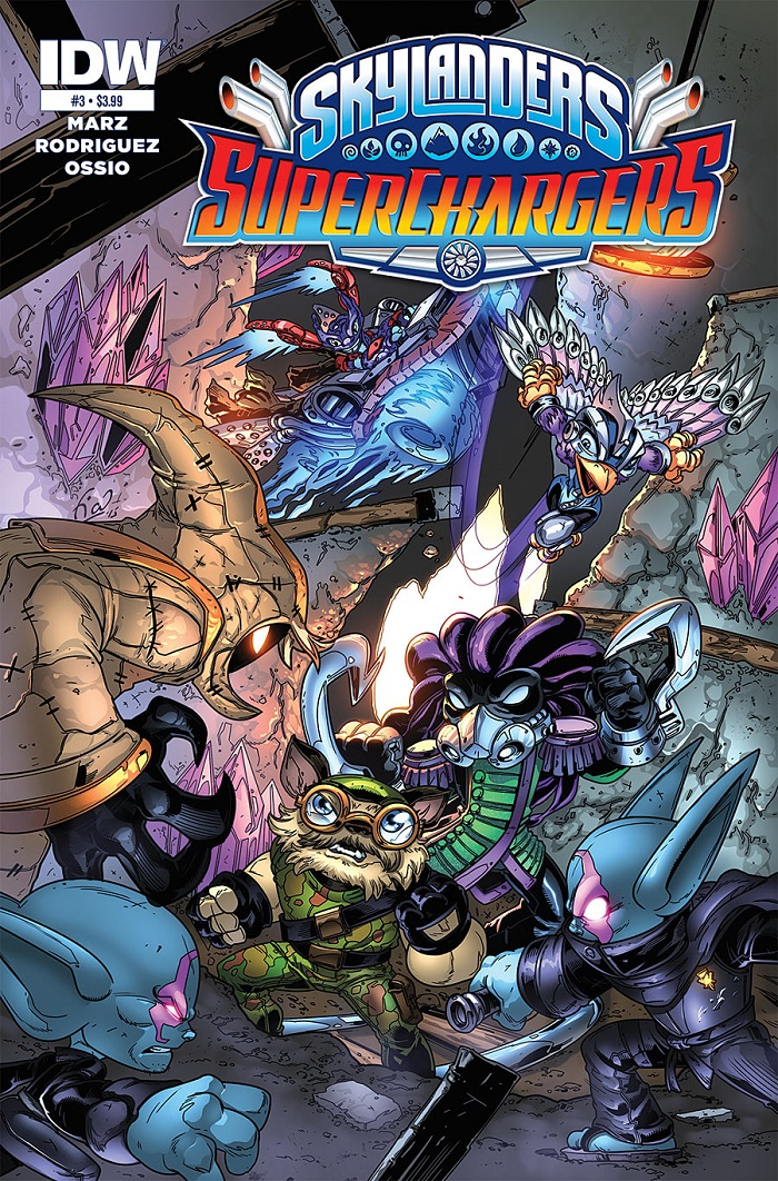 SuperChargers Issue 3