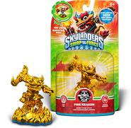 Gold fire kraken