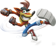 Crash Transparent Render