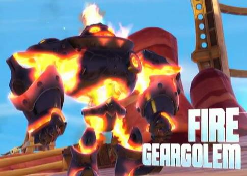 Fire Geargolems