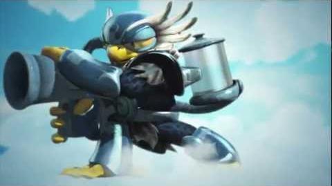 "Meet The Skylanders - LC Jet-Vac ""Hawk And Awe!"" Official Trailer"