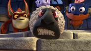 Sheeps reaction to Hugo