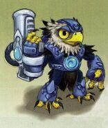 Eagle skylander concept