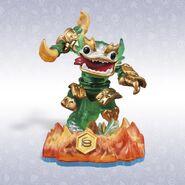 Jade Fire Kraken toy