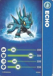 Echo card