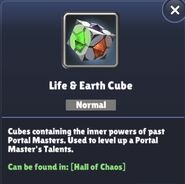 LifeEarth ElementalCube