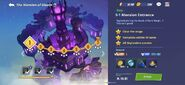 MansionofGloom LevelScreen