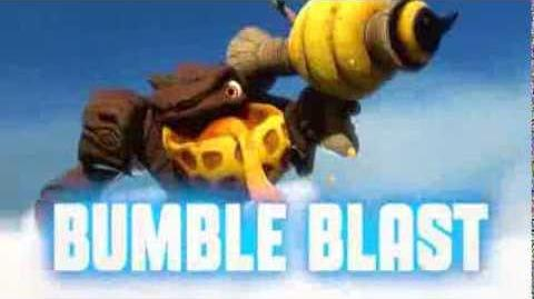 Skylanders Swap Force - Bumble Blast Soul Gem Preview (The Perfect Swarm)