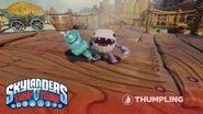Meet the Skylanders- Thumpling l Skylanders Trap Team l Skylanders