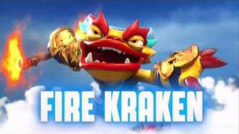 Skylanders Swap Force - Fire Kraken Soul Gem Preview (Burn to be wild)