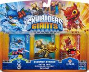 Skylanders giants scorpion battle pack