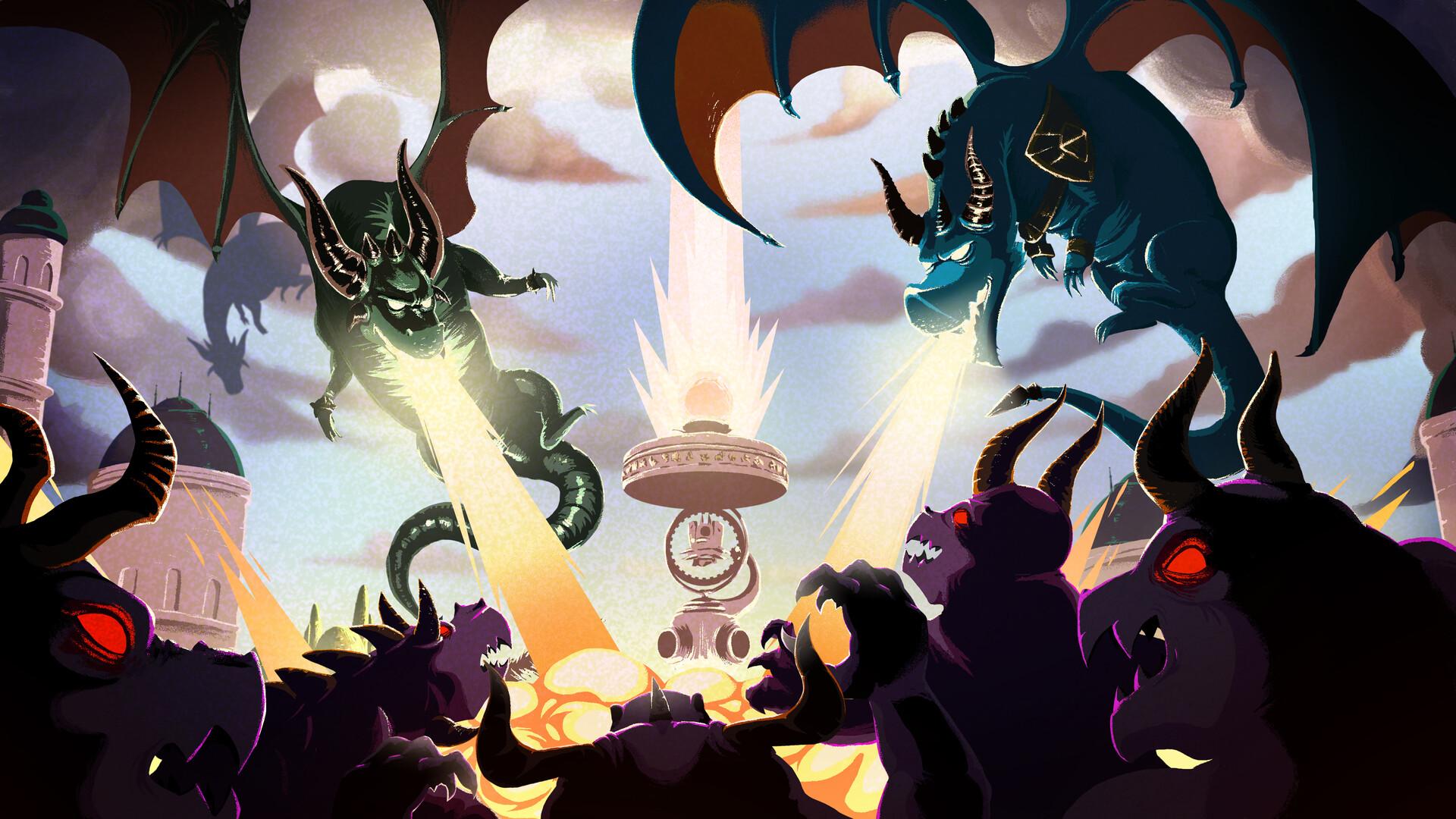 Dragons (Skylanders Academy)