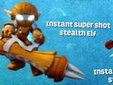 Instant Super Shot Stealth Elf