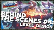 OFFICIAL Skylanders SuperChargers Behind the Scenes Level Design