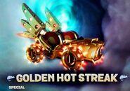Golden Hot Streak Supercharged