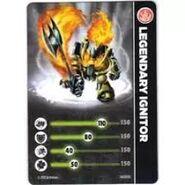 Legendary Ignitor Card