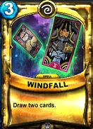 Windfall Animated Card
