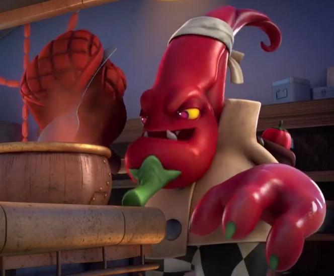 Chef Pepper Jack (Skylanders Academy)
