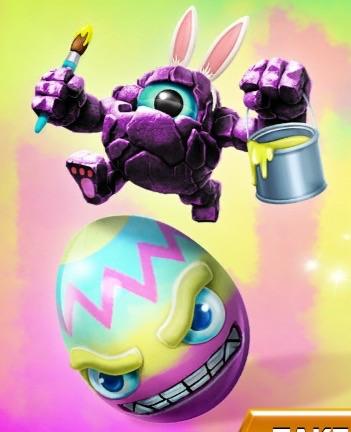 Rocky Egg Roll