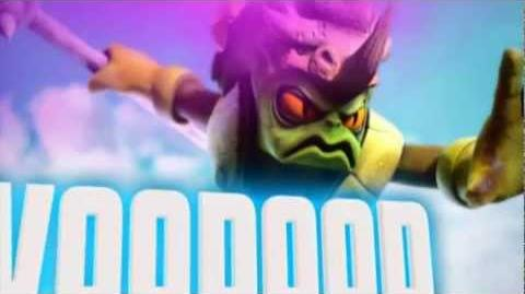 Skylanders Giants - Voodood's Soul Gem Preview (Axe First, Questions Later)