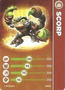 Scorp's Card