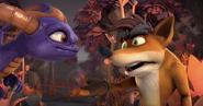 Crash Bandicoot Con Spyro