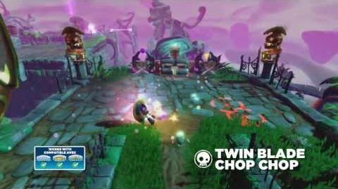 Meet the Skylanders Twin Blade Chop Chop