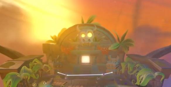 Cursed Tiki Temple