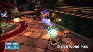 Meet the Skylanders LightCore Hex