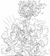 Nefarion Kaos Glumshanks Mask of Power