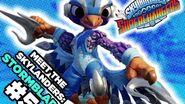 Meet the Skylanders SuperChargers Stormblade and Sky Slicer