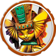 Golden Queen Icon