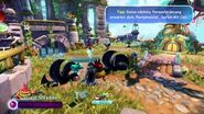 Skylanders Trap Team - Riot Shield Shredder Gameplay (Deutsch German)