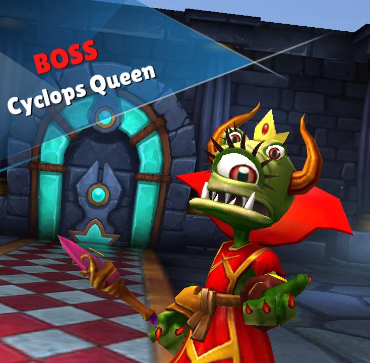 Cyclops Queen