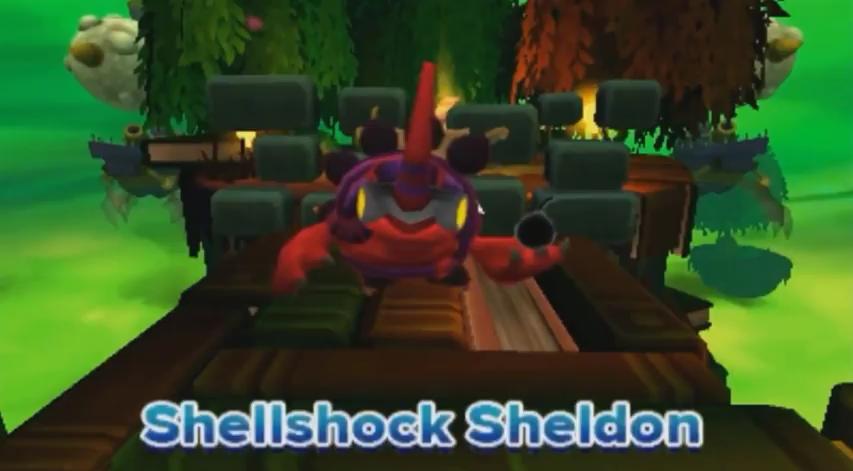 Shellshock Sheldon