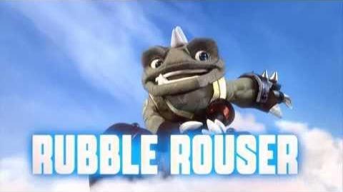 Skylanders Swap Force - Rubble Rouser Soul Gem Preview (Brace for Impact)