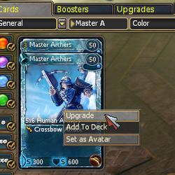 Card Upgrades