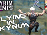 Flying in Skyrim