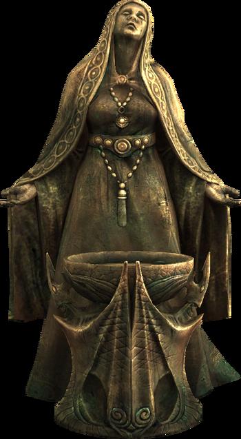 Statue von Mara