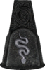 Schlange Glyphe pillar