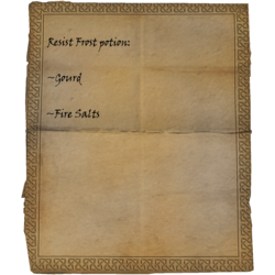 Zaubertrankrezept Frostresistenz: Kürbiss, Feuersalze
